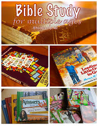 bible study and character training for multiple ages hodgepodge