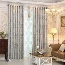 Jacquard Curtain Wholesale European Minimalist Style Living Room Bedroom Jacquard