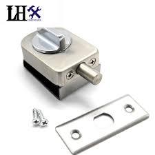 Interior Keyless Door Locks Lhx Cmms234 Hardware 45mm 65mm Glass Interior Door Lock Keyless