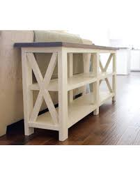 Farmhouse Console Table Find The Best Deals On Ashmore Farmhouse Console Table