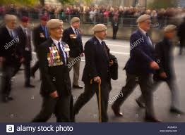 old soldiers marching past the cenotaph in london on remembrance