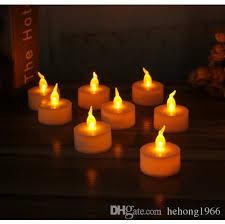electronic candles led festival celebration birthday multi