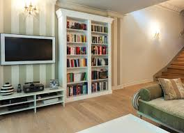 White Bookcase Ideas Bookcase And Bookshelf Ideas For Living Rooms