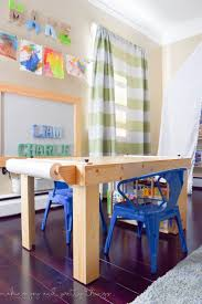 Kids Table And Chairs With Storage Best 25 Kids Craft Tables Ideas On Pinterest Basement Kids