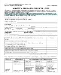 free rental lease agreement download printable residential lease agreement 13 free word pdf