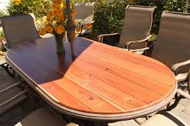 Patio Table Wood Creative Juices Decor Curly Willow And Wooden Tables Turning