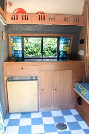 Camper Interior Ideas Vw T25 Campervan Diy Makeover Pip Returns