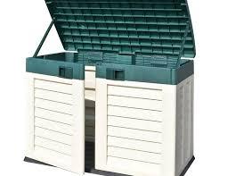 Plastic Outdoor Storage Cabinet Plastic Outdoor Storage Bench Innovative Garden Storage Bench Seat