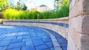 Garden Walls Ideas by Retaining Wall Design U0026 Construction Moscarino Outdoor Creations