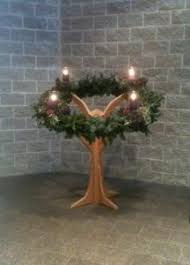 mini advent wreath stand kerry d away