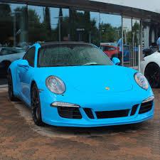 Porsche 911 Gts - miami blue porsche 911 carrera gts madwhips