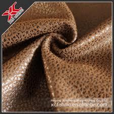 tissu d ameublement pour canapé 100 polyester brossé en daim tissu d ameublement pour jouet
