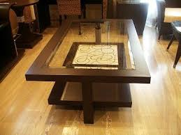 Center Table For Living Room Living Room Wooden Center Table Designs And Pictures
