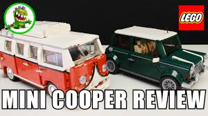 custom lego mini cooper lego mini cooper review 10242 youtube
