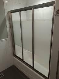 Bypass Shower Door Track Shower Doors Creative Mirror Shower