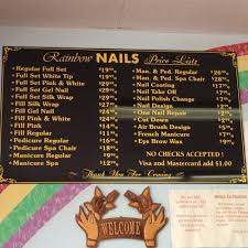 photos for rainbow nails yelp