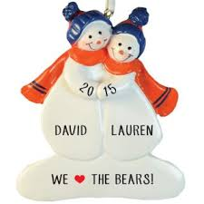 chicago bears ornaments gifts personalized