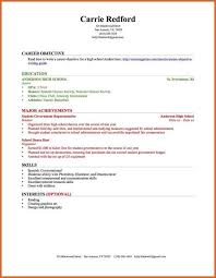 How To Do A Resume Without Work Experience Resume With No Work Experience Sample College Resume With No Work