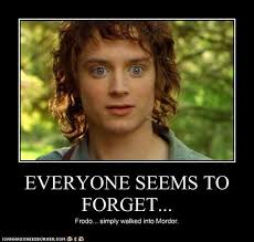 Mordor Meme - feeling meme ish lord of the rings and the hobbit movies