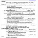 Government Resume Templates Federal Government Resume 19004