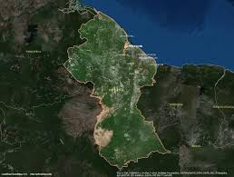 Guyana Map Guyana Satellite Maps Leaddog Consulting