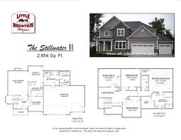 Mudroom Laundry Room Floor Plans by Stillwater Ii Colonial Design Little Mountain Homes