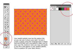 illustrator pattern polka dots illustrator fashion design tutorial step 11 create a polka dots