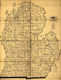 Detailed Map Of Michigan 18 Historic And Not So Historic Maps Of Michigan