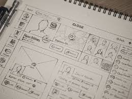 64 best ui wireframes sketches images on pinterest wireframe ui