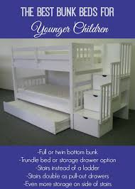 Bunk Bed With Pull Out Bed Best Bunk Beds For Little Kids The Naughty Mommy