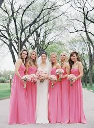 pink bridesmaid dresses aliexpress buy hot pink bridesmaid gown navy blue