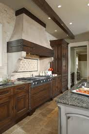 Rustic Kitchen Hoods - kitchen hood vent kitchen rustic with exposed beams stainless