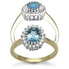 gold topaz rings images 9 carat yellow gold 23pts diamond blue topaz ring ramsdens jpg