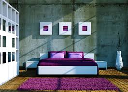 Interior House Decoration With Purple With Inspiration Gallery - Interior design bedroom images
