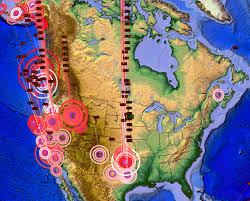 United States Earthquake Map by 1 09 2015 U2014 Earthquake Overview U2014 Current Unrest Showing Across