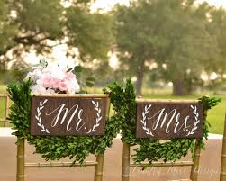 wedding chair signs 19 best wedding chair back signs images on wedding