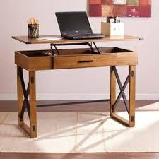 Desk For Desktop Computer by Height Adjustable U0026 Standing Desks You U0027ll Love Wayfair