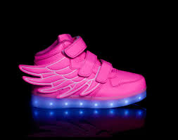 big kids light up shoes light up shoes led shoes super pegasus pink big kids led light up