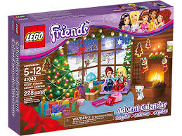 lego friends advent calendar 41040 friends lego shop