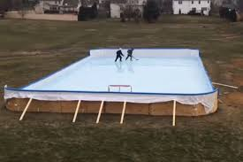 town orders family to tear down backyard hockey rink new york post