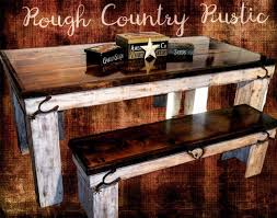 Whiskey Barrel Kitchen Table Dining Room Rough Country Rustic Furniture