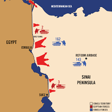 Map Of Syria And Israel by 1973 Yom Kippur War Day By Day