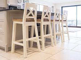 billy cream painted kitchen bar stools oak bar stools u0026 kitchen