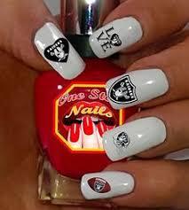 oakland raiders acrylic nails done by aaliyah fonseca girls