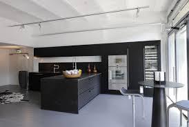 kitchen modern interior black and white eiforces