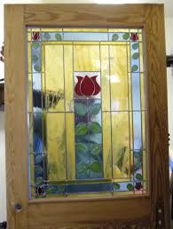 stained glass art and craft design kitchen door for carolina bed