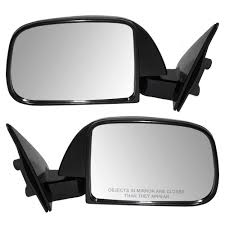amazon com pair set manual side view mirrors sail mounted
