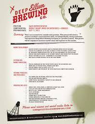 Best Resume Posting Sites by Career Opportunity Deep Ellum Brewing Co