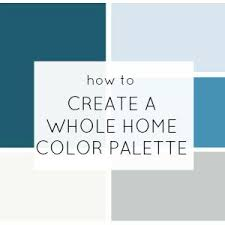 Gray Blue Color - how to create a whole home color palette