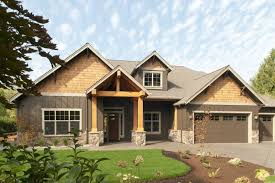 one craftsman style homes inspiring idea 7 brick craftsman two house plans single